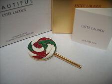 "Estee Lauder Solid Perfume Compact ""Lollipop Twist"" Mibb"