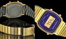 Casio RETRO GOLD & PURPLE WATCH la670wga-6d orologio reloj MONTRE LAST SEASON!!