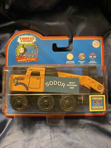 NEW BUTCH Thomas & Friends Tank Engine Wooden train RETIRED '05 LEARNING CURVE