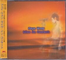王菲 王靜雯 Faye wong LIVE IN CONCERT 最精彩演出会 W/OBI 日版 Japan press王菲 王靜雯 Faye wong LIV