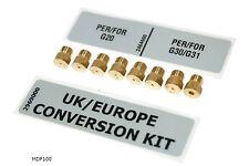 LPG Conversion Kit Montpellier Dual Fuel Range Cooker Model MDF100K or MDF100S