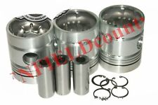 New Complete Piston Kit With Rings Massey Ferguson 135 245 Tractor S2u