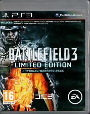 PS3 - Battlefield 3 Limited Edition (Sony PlayStation 3, 2011) - COMPLETE