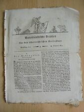 1814 9 Podluzaken Podluza Teinitz Lundenburg Kostitz Turnitz Altmarke Budweis