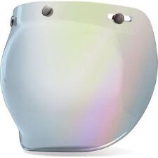 Bell Custom 500 Silver Mirror Visor Bubble Visor BH7018133