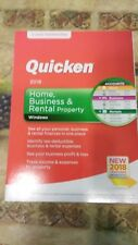 FREE SHIPPING! Quicken Home, Business & Rental  2018(2-Year Subscription)Windows