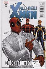 All New X-Men #4 Marvel Comics 2016 Ron Lim Deadpool Memes Variant Cover 1:10