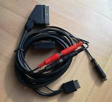 Sony Playstation PSX PS1 PS2 RGB SCART EURO HQ Cable CSYNC CLEAN SYNC GUNCON