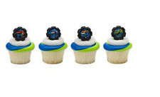 Blaze and the Monster Machines cupcake rings (24) favor cake topper 2 dozen