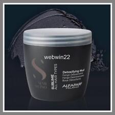 ALFAPARF DETOXIFYING MUD clay remove impurities hair scalp treatment mask 500ml
