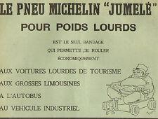 PNEU MICHELIN JUMELE POUR POIDS LOURDS PUBLICITE 1910
