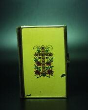 Andachts- & Gebetsbuch lackiert mit  Messingschloß und Vergoldetem Buchblock