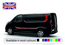 Renault Traffic Sport side stripes vinyl kit(Vauxhall Vivaro) High Quality vinyl