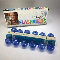 SYLVANIA Press 25B Blue Dot Flashbulbs Box of 12