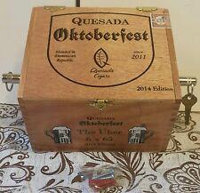 Oktoberfest Cigar box Key Holder Key Chain Guitar Jack Amp keychain  quesada