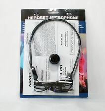 GBC 61450030 HM-38 CUFFIA AURICOLARE MICROFONO INTEGRATO PER TRASMETT. LEVALIER
