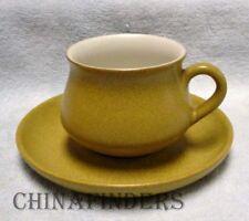 "DENBY china ODE pattern Cup & Saucer Set - 2-3/4"""
