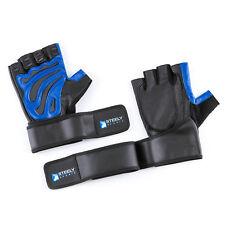 Fitness Handschuhe Leder m. Bandage / Trainingshandschuhe Herren
