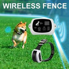 (USA) Pet Electronic Fence Wireless Remote Control Waterproof Rechargeable Dog