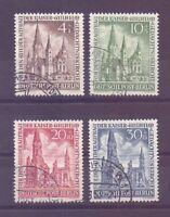Berlin 1953 - MiNr. 106/109 rund gestempelt geprüft - Michel 230,00 € (038)