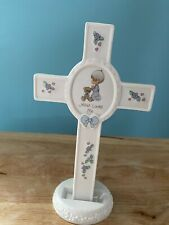 Precious Moments Jesus Loves Me Cross With Stand No Original Box