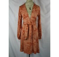 Anthropologie Eva Franco Floral Wrap Dress Size 8