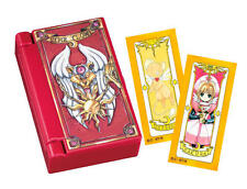 CARD CAPTOR SAKURA - mini porta oggetti clow card case +  cards stickers clamp