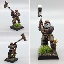 Warhammer edad de Sigmar frostgrave Imperio Bretonnian guerrero sacerdote capitán héroe