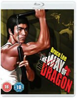 The Way of the Dragon DVD (2015) Bruce Lee cert 18 2 discs ***NEW*** Great Value