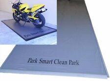 Park Smart 4.5' x 9' Motorcycle Garage Floor Mat Luxury Grade 50 Mil + SmartPark