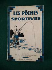 RARE MANUEL MANUFRANCE PECHE SPORTIVE 1934 PLANCHE MOUCHES TARIF ST ETIENNE