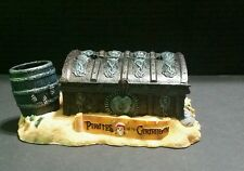 DISNEY PARKS PIRATES OF CARIBBEAN TREASURE CHEST NOTEPAD HOLDER