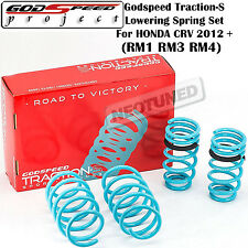 GODSPEED TRACTION-S LOWERING SPRINGS SUSPENSION FOR HONDA CRV 12-UP RM1/RM3/RM4