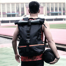 Men's Sports Cycling Travel Backpack Rucksack Basketball Bag Schoolbag Daypack