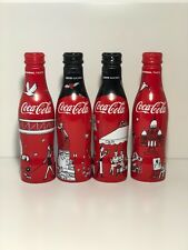 Coca Cola 4 Aluminium Bottles France