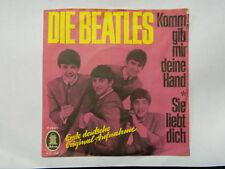 """7"""" THE BEATLES - komm, gib mir deine hand / sie liebt mich/dich"""