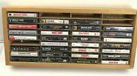 Lot of 31 Cassette Tapes Hair Rock Bands Crue Quiet Riot Warrant Zeppelin Rush