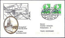 FRG 1995: North America 100 Years! FDC No 1802 with Kieler Special postmark 1709