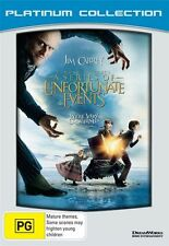Lemony Snicket's A Series of Unfortunate Events (Platinum Collection) NEW R4 DVD