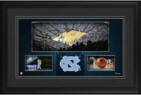 "North Carolina Tar Heels Framed 10"" x 18"" Dean Smith Center Panoramic Collage"