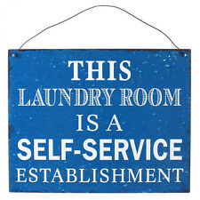"""""""this Laundry room is a self-service... """"VINTAGE 50s LAMIERA SCUDO Rockabilly"""