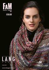Lang Yarns Fatto a Mano FAM 257 Color - Strickheft mit Strickanleitungen
