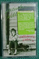LUCINDA WILLIAMS PASSIONATE KISSES New Factory Sealed Cassette 1989 Rough Trade