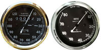 Smiths Tachometer 8000 rpm M12x1 thread 4:1 ratio Clockwise+ 120 mph speedometer