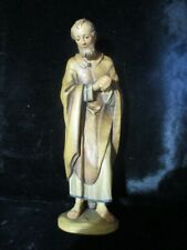 Anri Nativity Standing Joesph Carved Wood Made in Italy L432 Qq