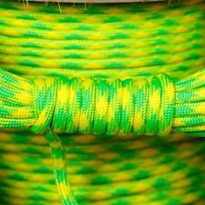 PARACORD 550 TYPE 3 - 7 STRAND PARACHUTE CORD - DAYGLOW - 100FT