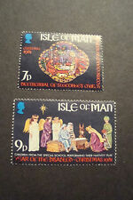 GB Isle of Man 1981 Commemorative Stamps~Christmas~ Fine Used Set~UK Seller