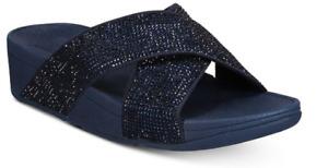 Fitflop Ritzy Slide Midnight Navy Sandal Women's sizes 5-11/NEW!!!