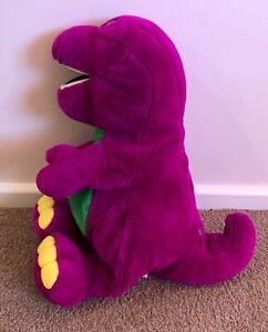 ORIGINAL 20 inch 1992 Vintage Barney the Dinosaur Plush Toy Dakin Lyons Group