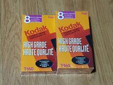 Kodak T-160 Video Tape Video Cassette - Lot of 3 - A2